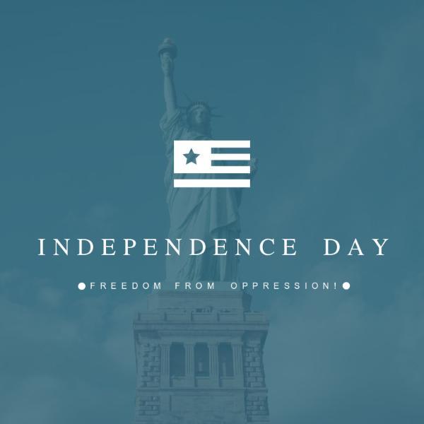 美国独立日_图文
