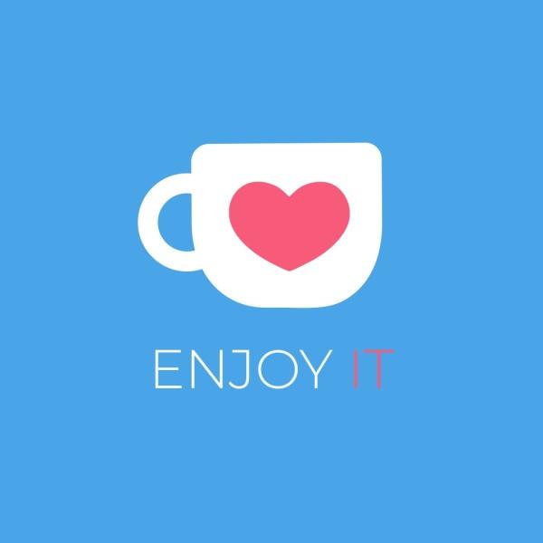 Blue Coffee Drink Branding  Instagram Post