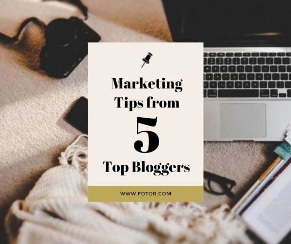 Marketing Tips For Bloggers Facebook Post