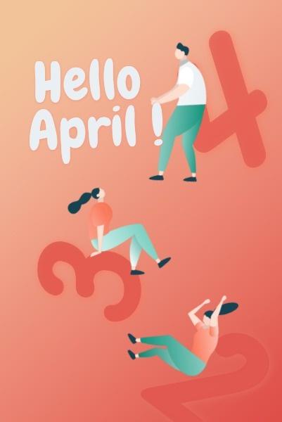 月签 - 4月-xsy