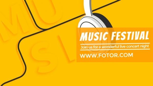 黄色耳机音乐节_tb_hyx_20180919