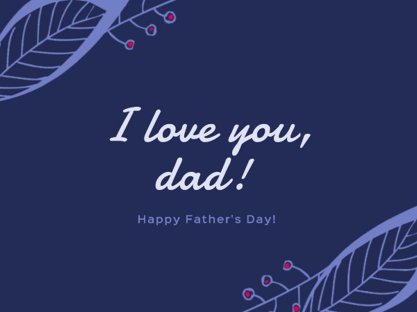 I love you, dad_copy_cl_2070212