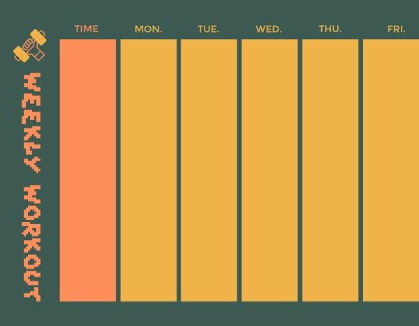 10class schedule_健身_wl
