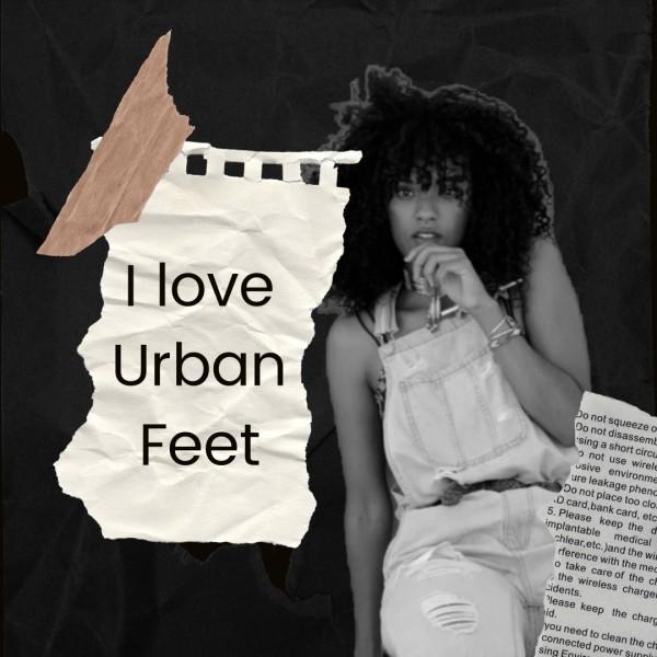 Black Woman Urban Feet Fashion Sale Instagram Post