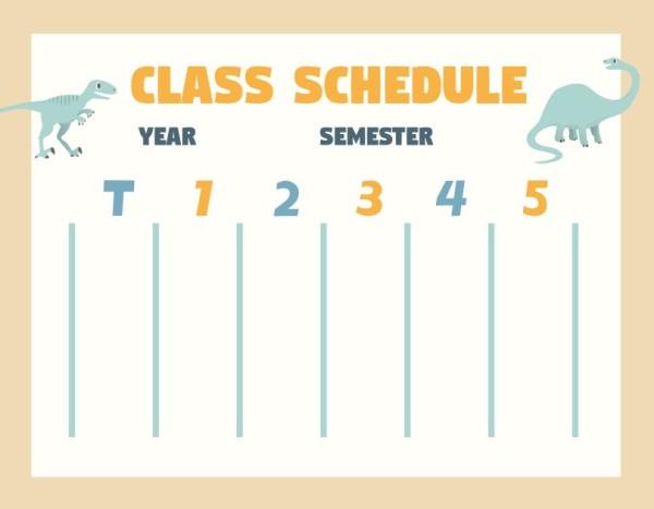 27class schedule_lsj
