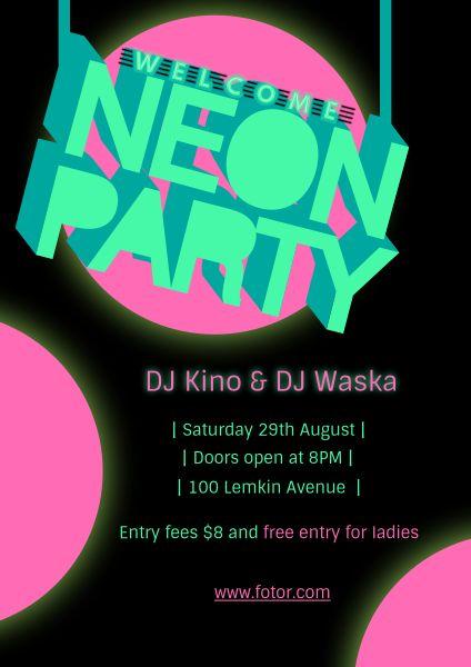 neon party_lsj_20180614