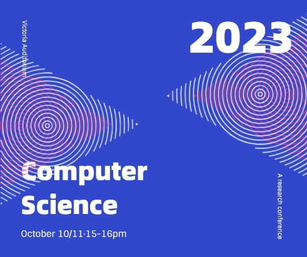 Computer Science Event Facebook Post