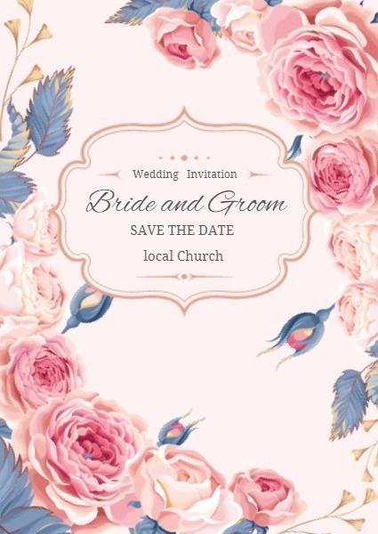 Diy Wedding Invitation Card Online With Card Maker Fotor