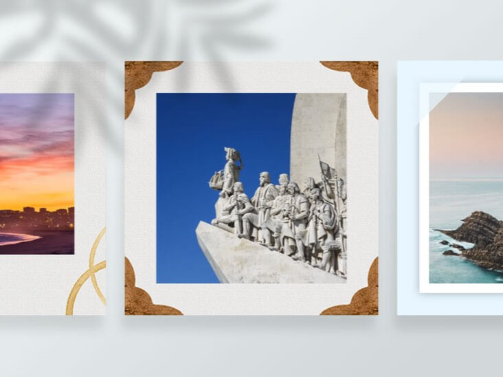 Photo Frames of Fotor Photo Editor