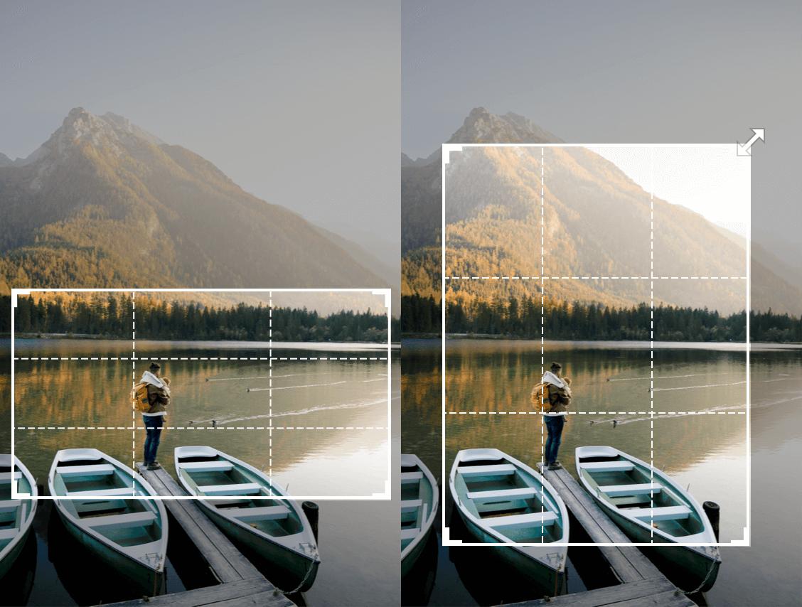 recortar imagen de un barco