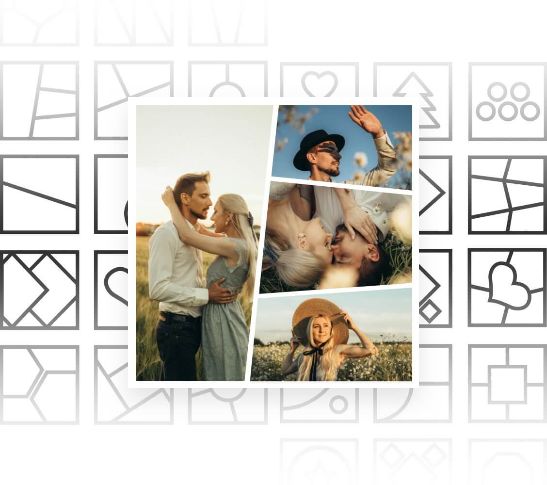 Hundreds of Creative Photo Grids for You to Choose From