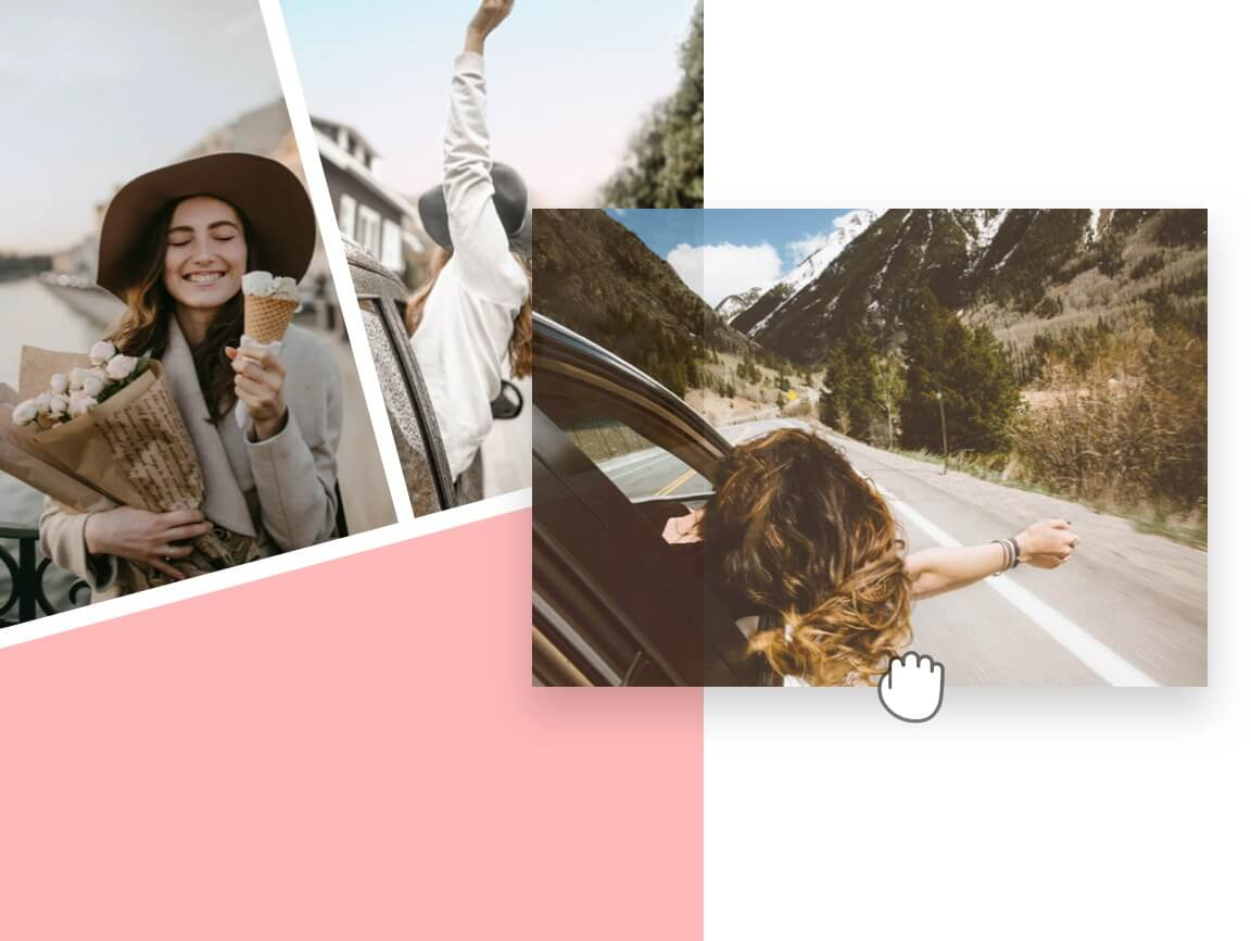 Create Photo Collages with Our Drag-and-Drop Tool