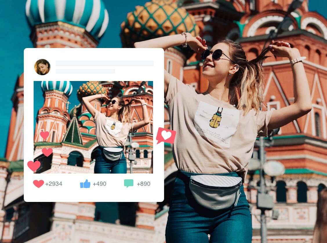 Изменить размер изображения из социального приложения